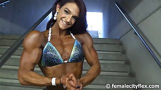 fitness posing very beautiful