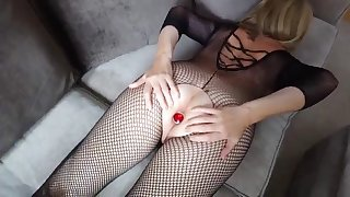 bodysuit and buttplug