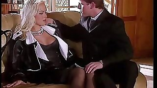 Silvia Saint Fucks the Lawyer and Jerks His Cum